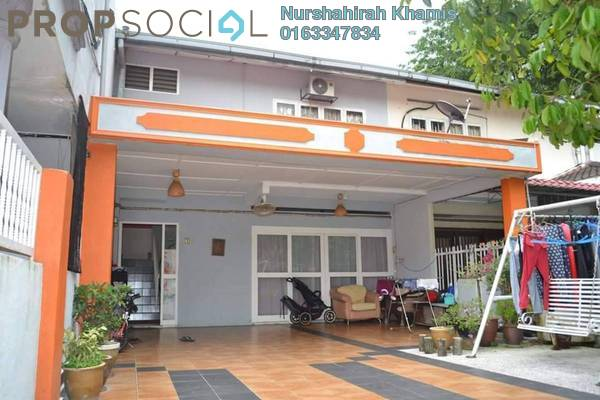 For Sale Terrace at Section 4, Shah Alam Leasehold Semi Furnished 5R/3B 580k