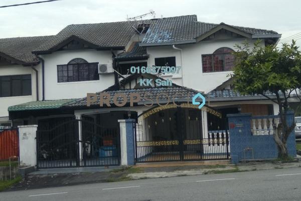 For Sale Link at Taman Len Sen, Cheras Freehold Semi Furnished 4R/3B 508k