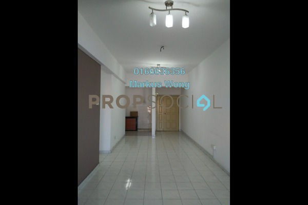 For Sale Apartment at Jalil Damai, Bukit Jalil Freehold Fully Furnished 3R/2B 420k