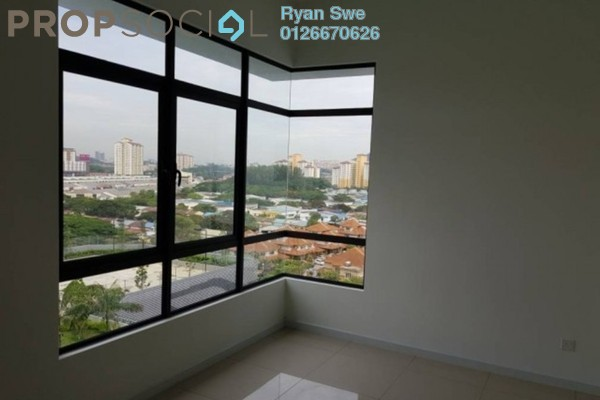 For Sale Serviced Residence at Fortune Perdana Lakeside, Kepong Freehold Semi Furnished 3R/2B 510k