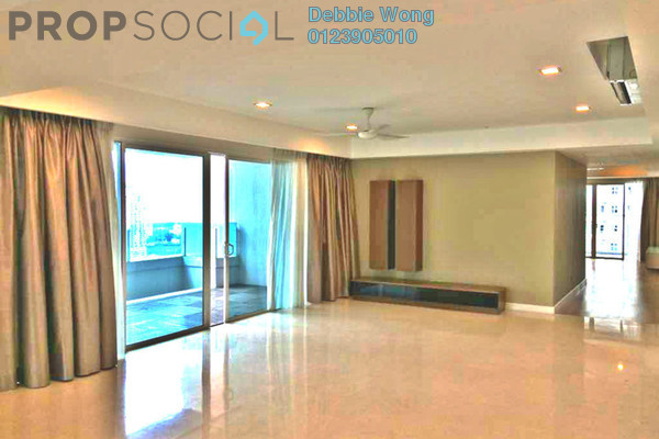 For Sale Condominium at Tiffani Kiara, Mont Kiara Freehold Semi Furnished 4R/5B 2.6m