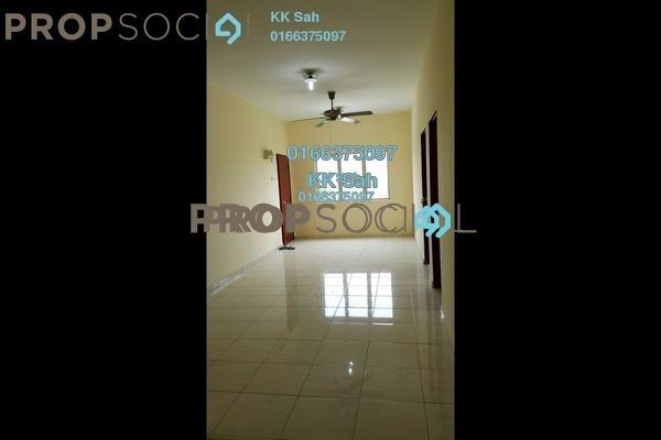 For Sale Apartment at Taman Pendamar Indah 2, Port Klang Freehold Semi Furnished 3R/2B 142k