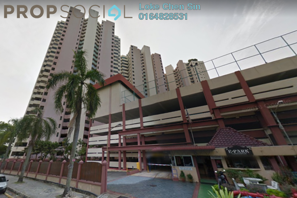 For Rent Condominium at E-Park, Batu Uban Freehold Fully Furnished 2R/1B 1.58k