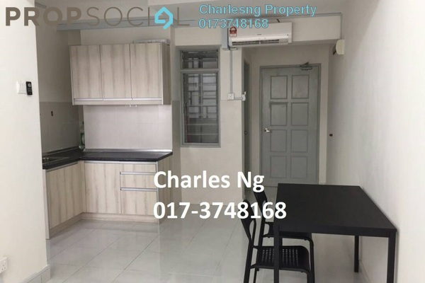For Rent SoHo/Studio at Main Place Residence, UEP Subang Jaya Freehold Fully Furnished 1R/1B 1.2k
