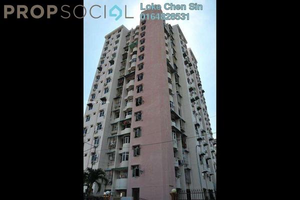 For Rent Condominium at Taman Sri Bunga, Sungai Nibong Freehold Fully Furnished 3R/2B 1.15k