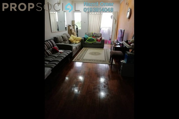 For Rent Apartment at Sri Permata, Shah Alam Freehold Semi Furnished 3R/2B 1.6k