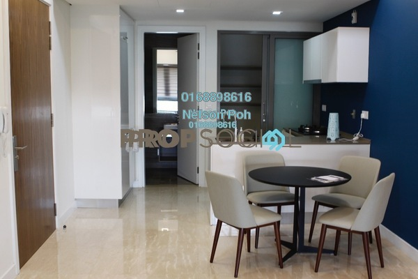 For Rent Serviced Residence at The Sentral Residences, KL Sentral Freehold Fully Furnished 2R/1B 4k