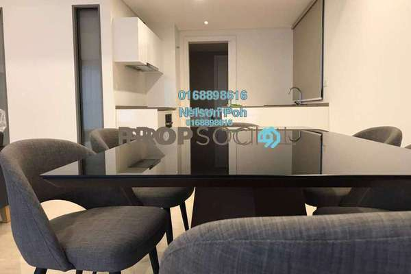 For Rent Condominium at The Sentral Residences, KL Sentral Freehold Fully Furnished 2R/2B 6.5k