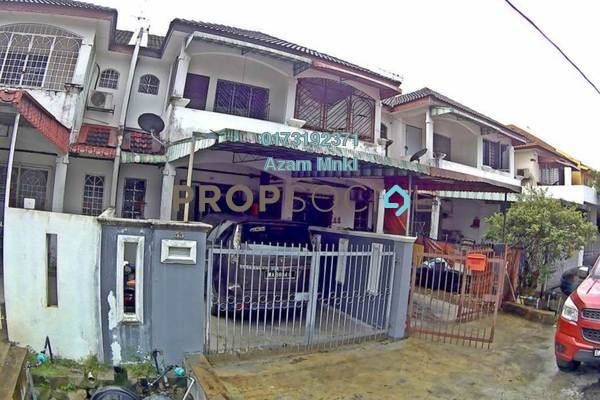 For Rent Terrace at Taman Sri Gombak, Batu Caves Freehold Unfurnished 3R/2B 1.2k
