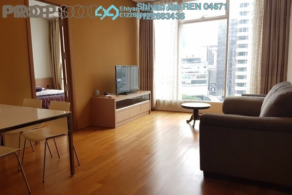 For Rent Condominium at Vipod Suites, KLCC Freehold Fully Furnished 2R/1B 3.9k