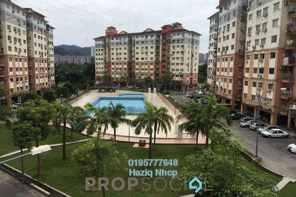 For Sale Condominium at Sri Hijau, Bandar Mahkota Cheras Freehold Semi Furnished 3R/2B 300k