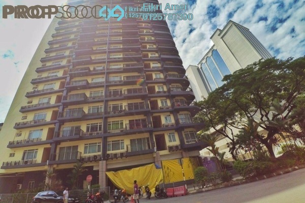 For Sale Condominium at 38 Bidara, Bukit Ceylon Freehold Semi Furnished 2R/2B 600k