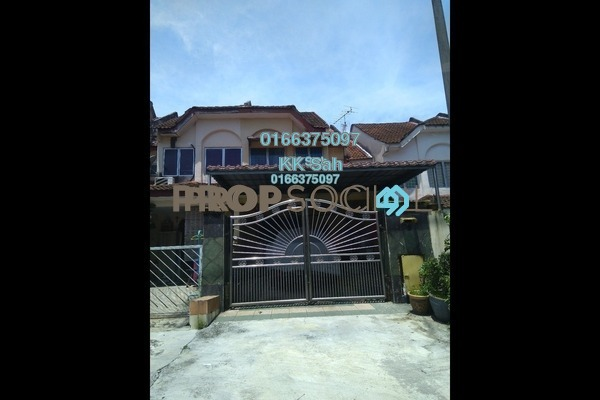 For Sale Link at Taman Sri Bahagia, Cheras South Freehold Semi Furnished 3R/2B 578k