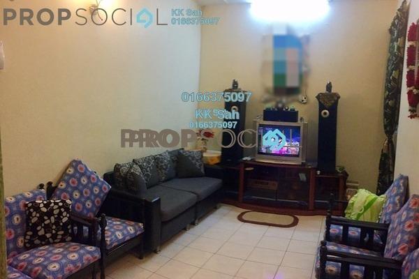 For Sale Link at Taman Klang Indah, Klang Freehold Semi Furnished 4R/2B 299k