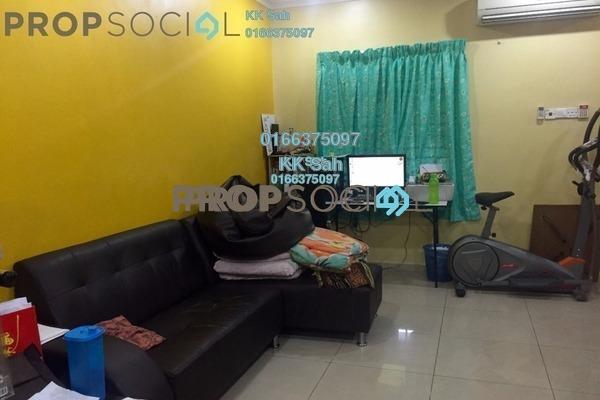 For Sale Terrace at Taman Saga, Klang Freehold Semi Furnished 4R/3B 420k