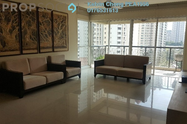 For Rent Condominium at Mont Kiara Banyan, Mont Kiara Freehold Fully Furnished 4R/3B 6.8k