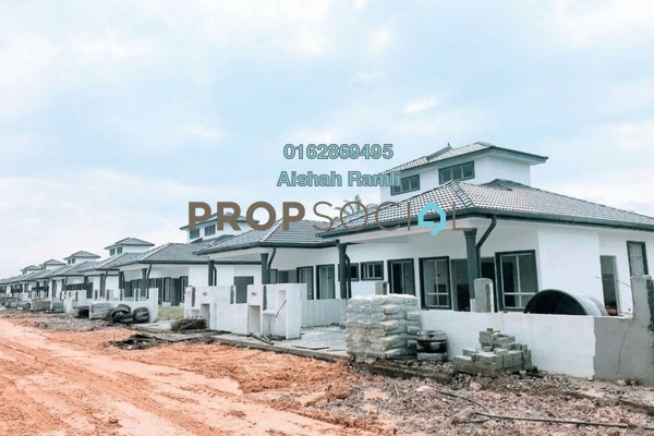 For Sale Terrace at Taman Bentara, Telok Panglima Garang Freehold Semi Furnished 4R/2B 410k