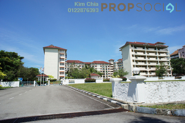 For Sale Apartment at Teluk Kemang, Port Dickson Freehold Unfurnished 2R/2B 80k