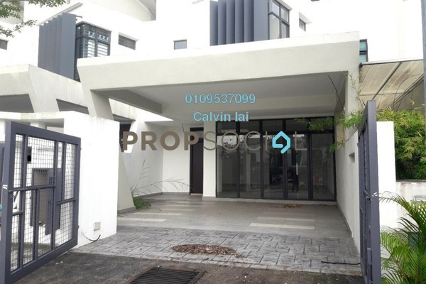 For Sale Terrace at Laman Glenmarie, Saujana Freehold Unfurnished 4R/3B 960k