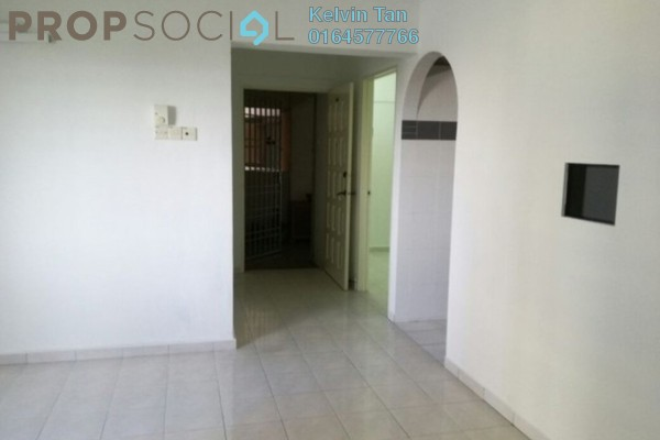 For Sale Apartment at Taman Pekaka, Sungai Dua Freehold Semi Furnished 3R/2B 380k