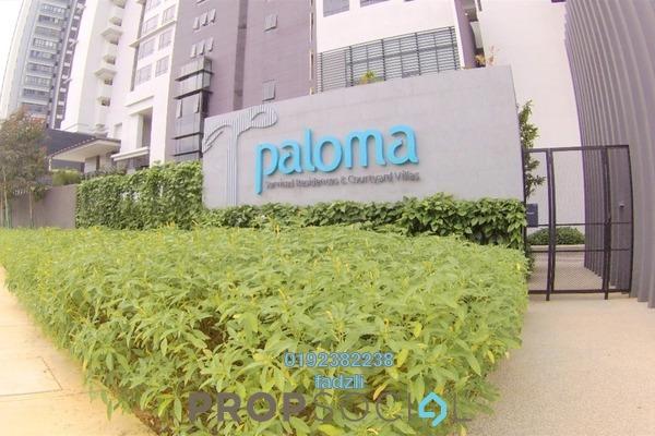 For Sale Serviced Residence at Paloma Serviced Residences, Subang Jaya Freehold Semi Furnished 2R/2B 770k