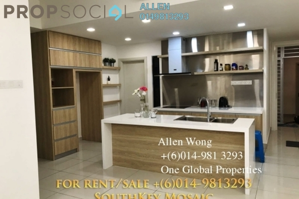 For Rent Condominium at SouthKey Mosaic @ SouthKey, Johor Bahru Leasehold Semi Furnished 4R/3B 3k