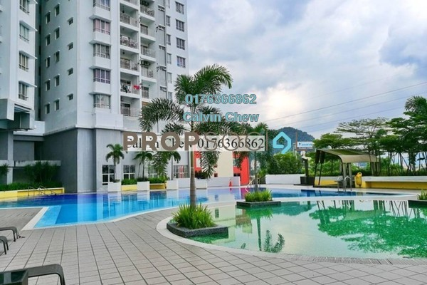 For Sale Condominium at Symphony Heights, Selayang Freehold Unfurnished 3R/2B 248k