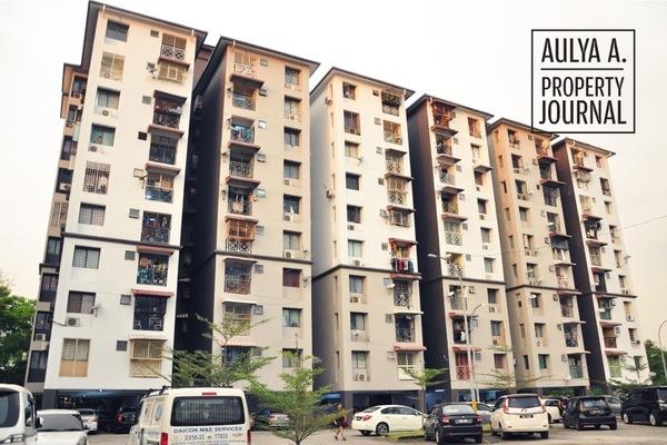 For Sale Apartment at Pandan Terrace Apartment, Pandan Perdana Leasehold Unfurnished 3R/2B 299k