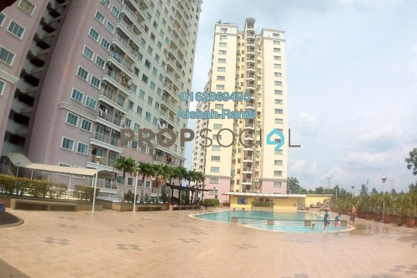 For Sale Condominium at Juta Mines, Seri Kembangan Freehold Semi Furnished 3R/2B 290k