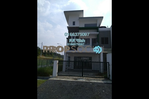 For Sale Superlink at Seksyen 4, Bandar Baru Bangi Freehold Unfurnished 5R/4B 573k