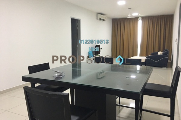For Rent Condominium at X2 Residency, Puchong Freehold Fully Furnished 4R/5B 2.2k