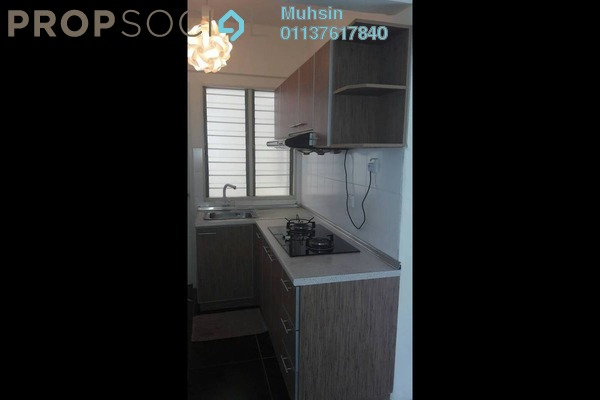 For Rent Apartment at Lakeview Apartment, Batu Caves Freehold Semi Furnished 3R/2B 1.3k