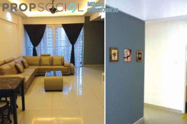 For Rent Condominium at Villa Wangsamas, Wangsa Maju Freehold Fully Furnished 3R/3B 2k
