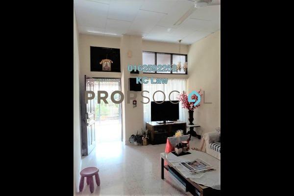 For Sale Terrace at Taman Bukit Maluri, Kepong Leasehold Semi Furnished 5R/2B 680k
