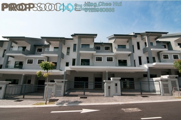 For Sale Superlink at The Peak, Cheras South Freehold Unfurnished 6R/5B 1.2m
