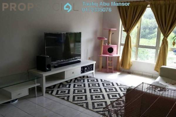 For Sale Apartment at Seroja Apartment, Bukit Jelutong Freehold Semi Furnished 3R/2B 330k