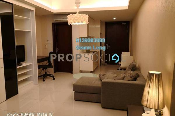 For Rent Condominium at Cliveden, Sri Hartamas Freehold Fully Furnished 1R/1B 1.9k