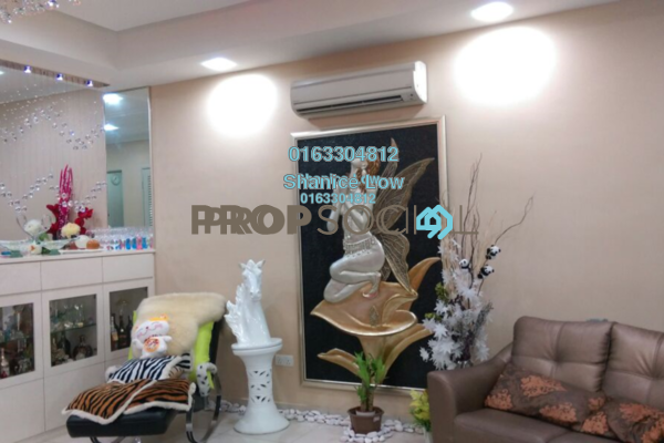 For Sale Terrace at Taman Universiti Indah, Seri Kembangan Freehold Semi Furnished 3R/3B 888k