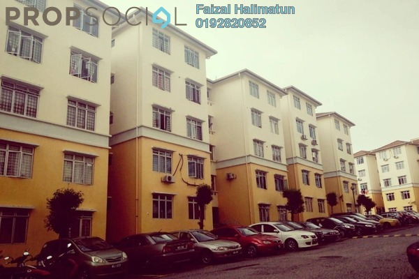 For Sale Apartment at Sri Baiduri Apartment, Ukay Freehold Unfurnished 4R/2B 285k