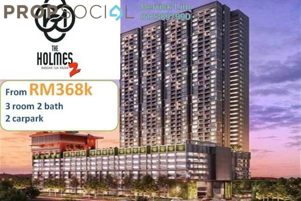 For Sale Condominium at The Holmes 2, Bandar Tun Razak Freehold Unfurnished 3R/2B 368k