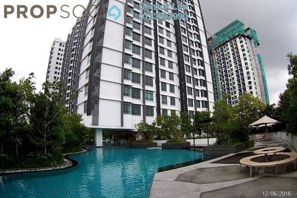 For Sale Condominium at Pearl Suria, Old Klang Road Freehold Unfurnished 2R/2B 555k