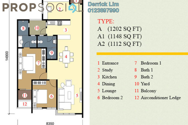 For Sale Condominium at Pearl Suria, Old Klang Road Freehold Unfurnished 3R/2B 725k
