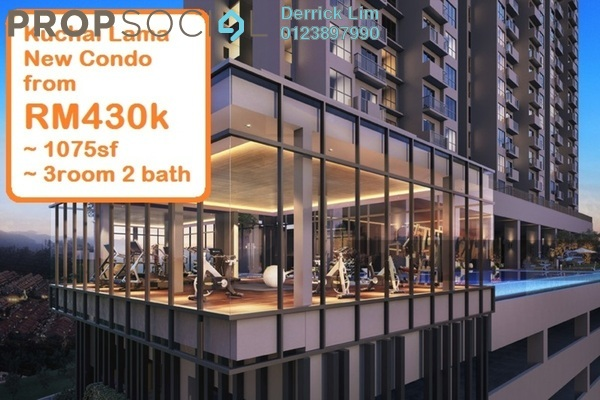 For Sale Condominium at The Hermington, Kuchai Lama Freehold Unfurnished 3R/2B 440k