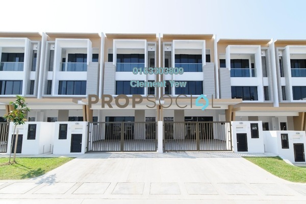 For Sale Terrace at Precinct 11, Setia Alam Freehold Unfurnished 5R/6B 899k