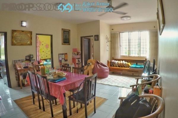 For Sale Condominium at Garden Park, Bandar Sungai Long Freehold Semi Furnished 3R/2B 270k