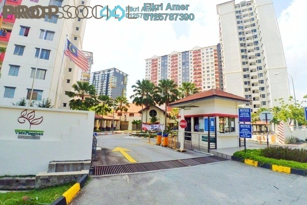 For Sale Apartment at Vista Pinggiran, Bandar Putra Permai Freehold Unfurnished 3R/2B 275k