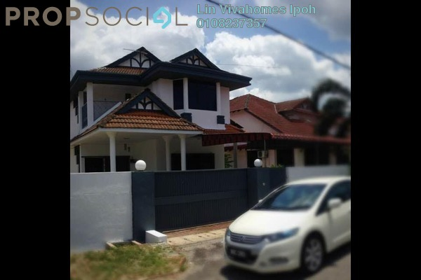 For Sale Bungalow at Bandar Lahat Baru, Ipoh Leasehold Semi Furnished 4R/3B 420k