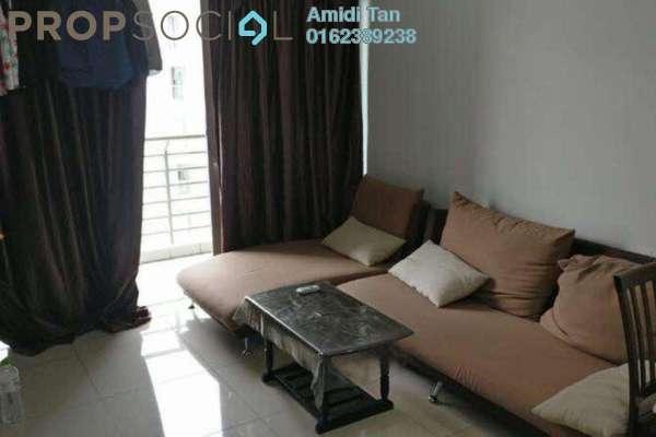 For Sale Condominium at Gardenz @ One South, Seri Kembangan Freehold Semi Furnished 3R/2B 500k