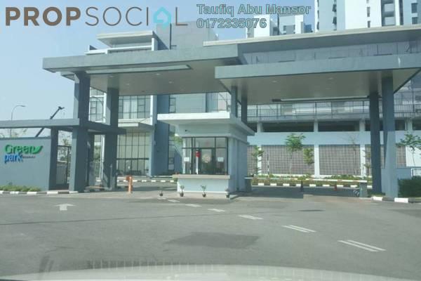 For Sale Condominium at Green Park, Seri Kembangan Freehold Unfurnished 3R/2B 470k