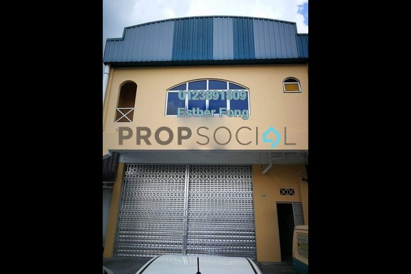 For Rent Factory at Taman Perindustrian KIP, Kepong Freehold Semi Furnished 1R/2B 4k